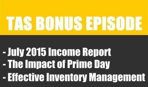 TAS BONUS - July Private Label income report