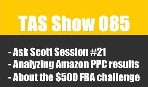 TAS085 - private label, Amazon FBA