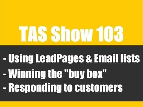 TAS103- private label, Amazon FBA