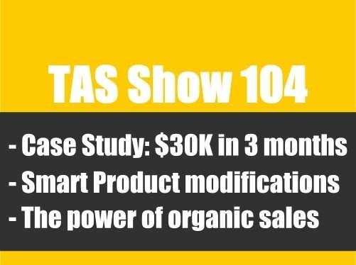 TAS104- private label, Amazon FBA
