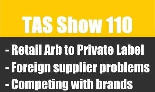TAS110- private label, Amazon FBA