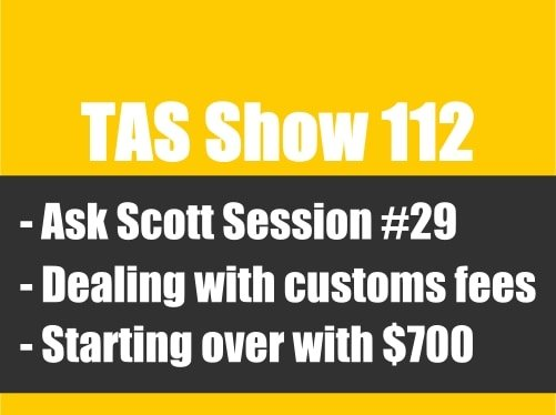 TAS112- private label, Amazon FBA