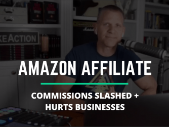 Amazon affiliate commissions slashed