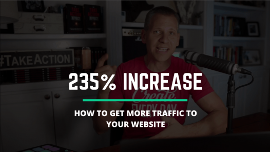 235% increase on niche site website traffic