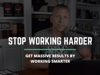 How To Get MASSIVE Results In Your Business Without Working Harder (Simple Exercise)