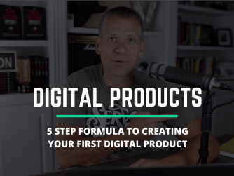 RYB845: 5 Step FORMULA To Create Your FIRST Digital Product and SELL IT!