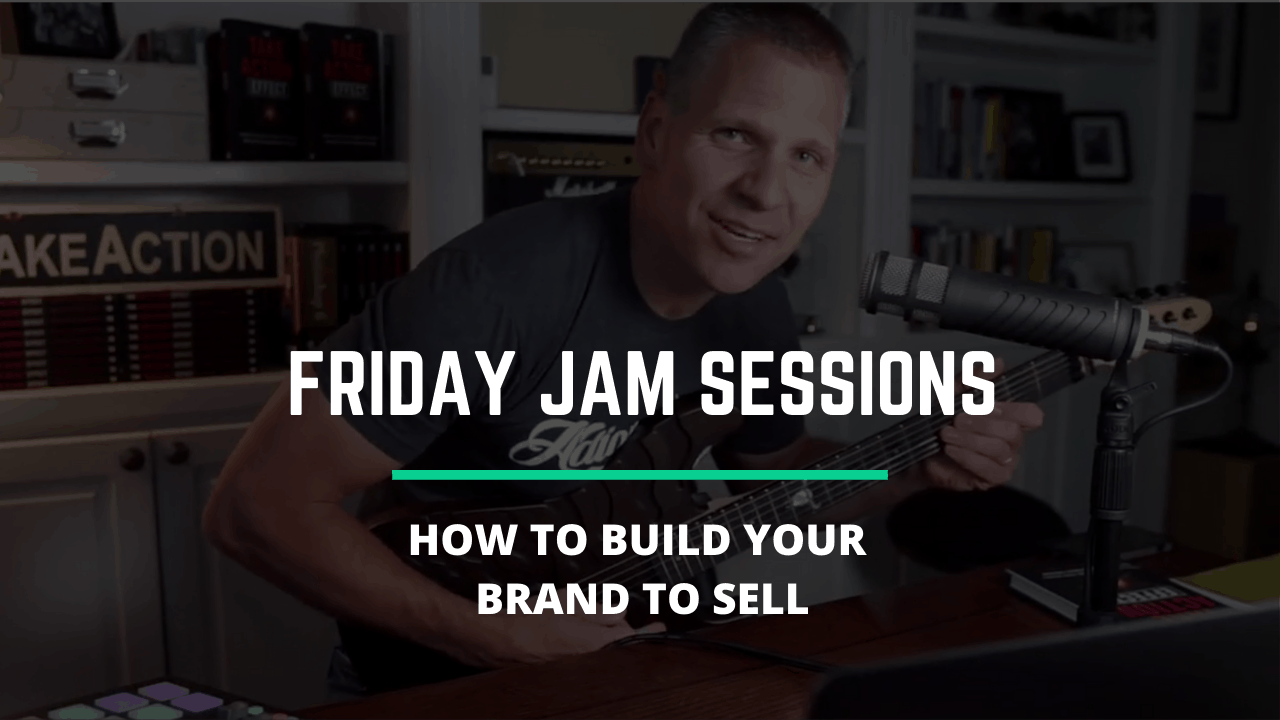 RYB 859: How To Build Your Brand To SELL IT? – Friday Jam Session