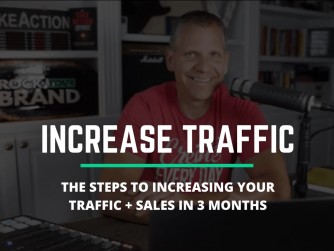 The Steps To Increased TRAFFIC and SALES in 3 Months (Action Steps)
