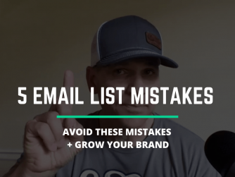 RYB 863: Avoid These 5 Email List Building Mistakes To Help Grow Your BRAND