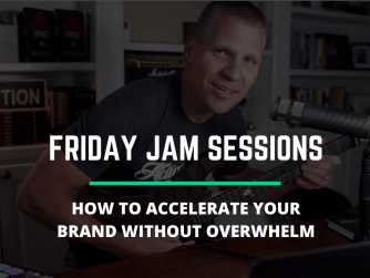 RYB 880: How To ACCELERATE My Brand Without Overwhelm? - Jam Session