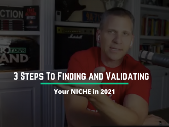 RYB 929: 3 Steps To Find and Validate Your NICHE in 2021
