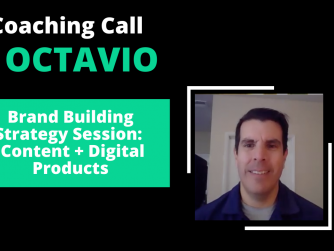 RYB 930: (Part 1) Brand Building Strategy Session with OCTAVIO - Content + Digital Products