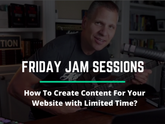 RYB 955: How To Create Content For Your Website with Limited Time? - Jam Session