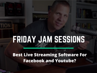 RYB 967: Best Live Streaming Software For Facebook and Youtube? Jam Session