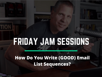 RYB 976: How Do You Write (GOOD) Email List Sequences? Jam Session